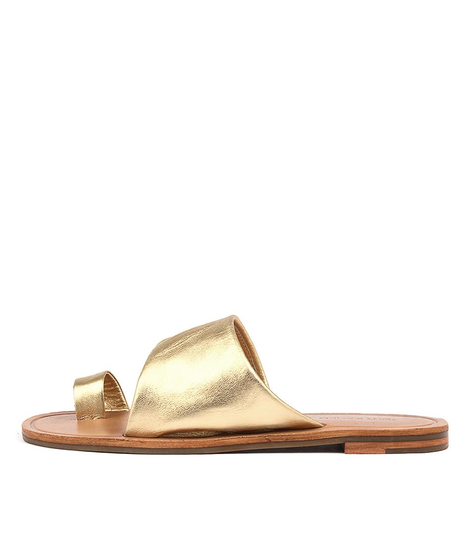 Tony Bianco Nero T B Gold Metallic Sandals