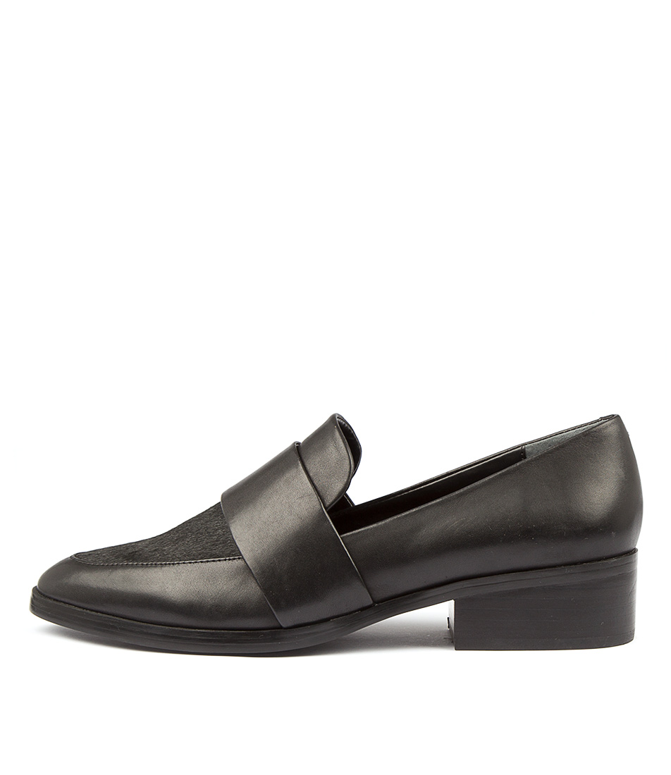 Tony Bianco Mayfair Black Jetta Bla Flats