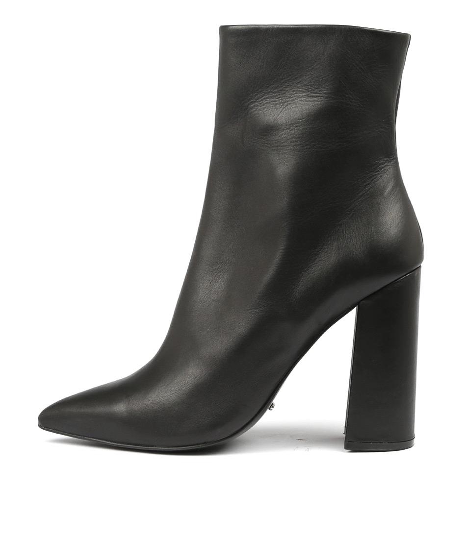 Tony Bianco Diego Black Jetta Ankle Boots