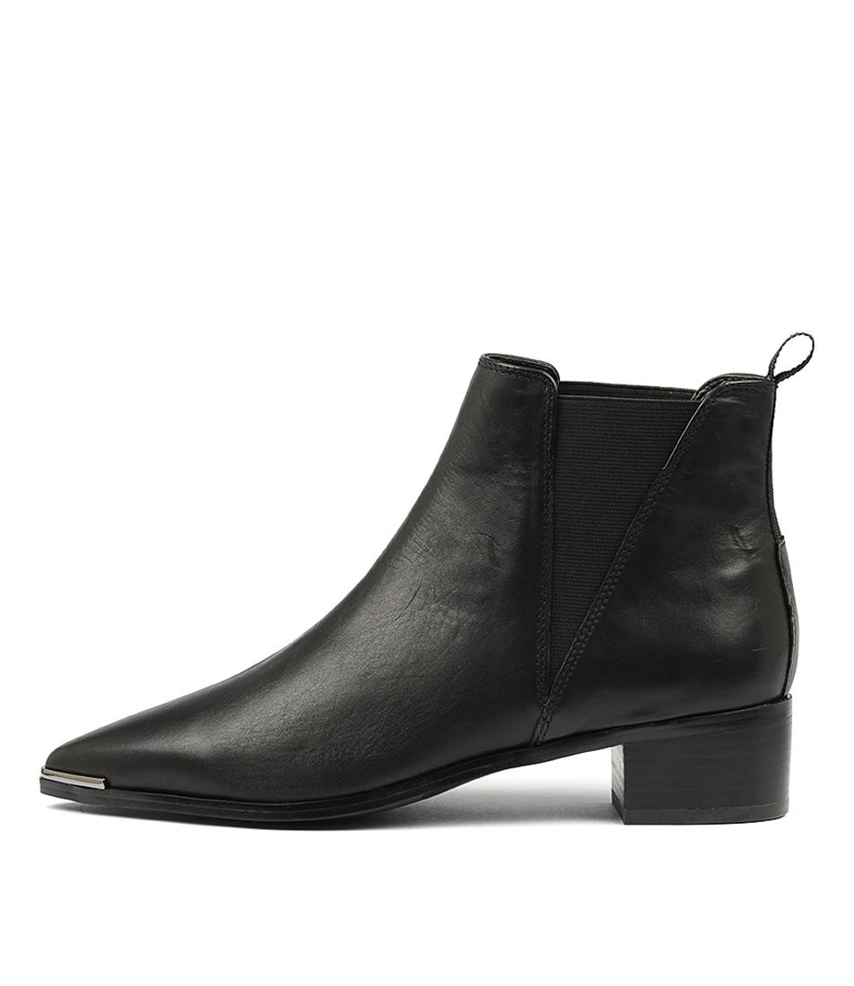 Tony Bianco Jazz Tb Black Como Ankle Boots