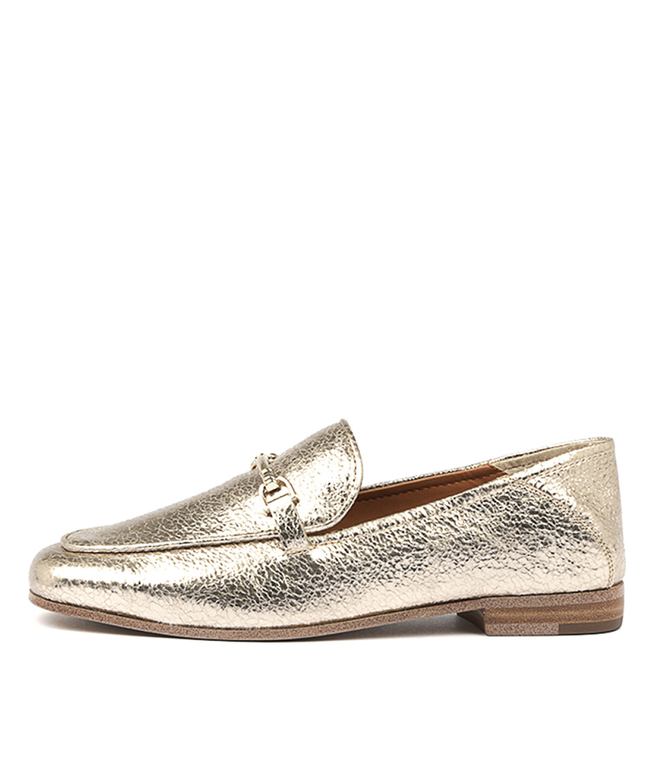Tony Bianco Teslar Gold Metallic Flats