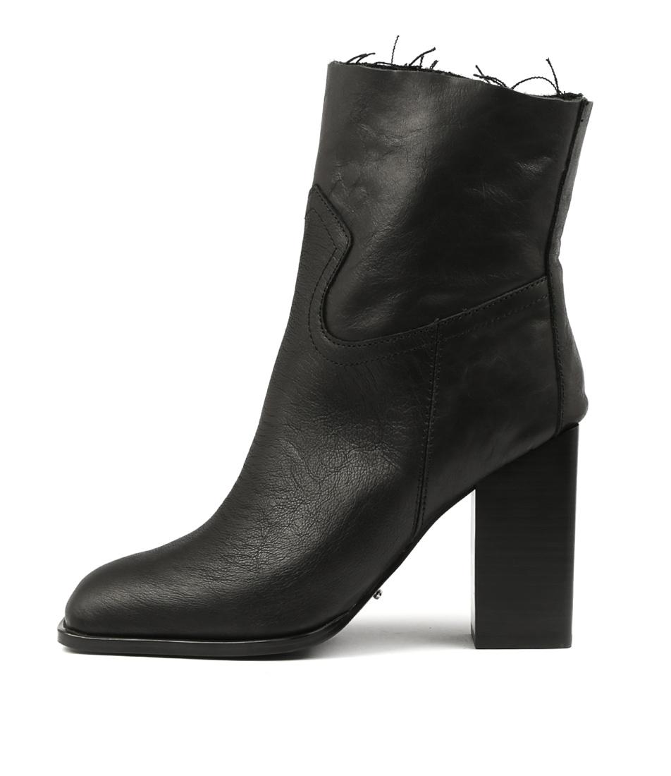 Tony Bianco Radar Tb Black Ankle Boots