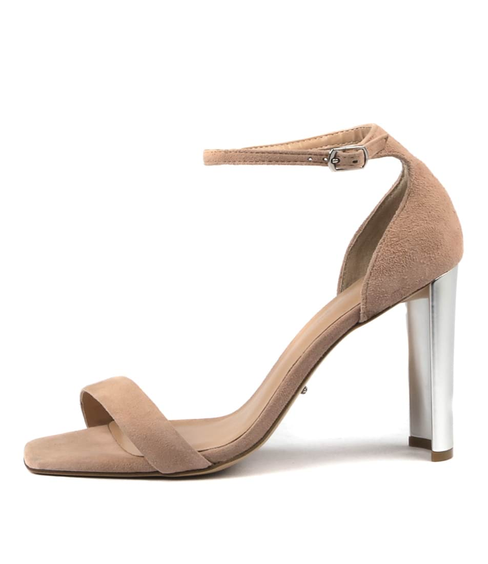 Tony Bianco Samala Tb Blush Heeled Sandals