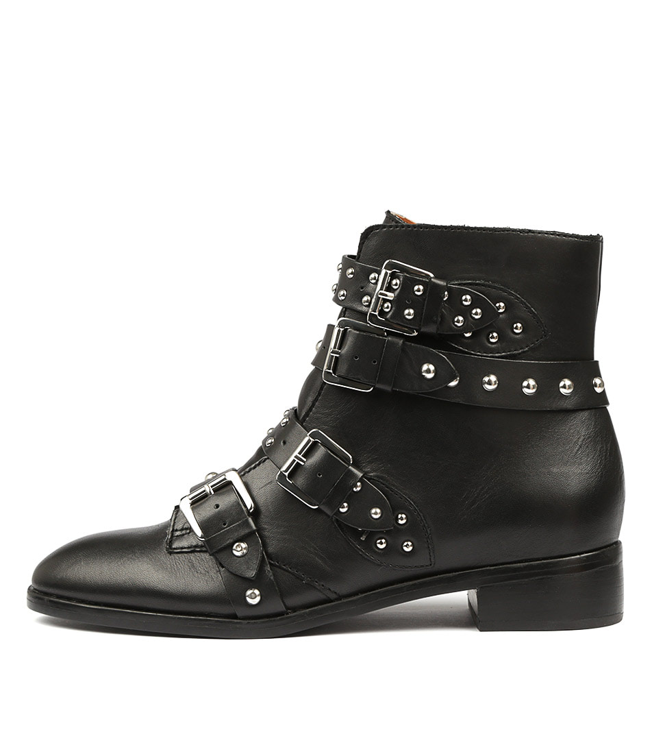 Buy Tony Bianco Calais Tb Black Ankle Boots online with free shipping