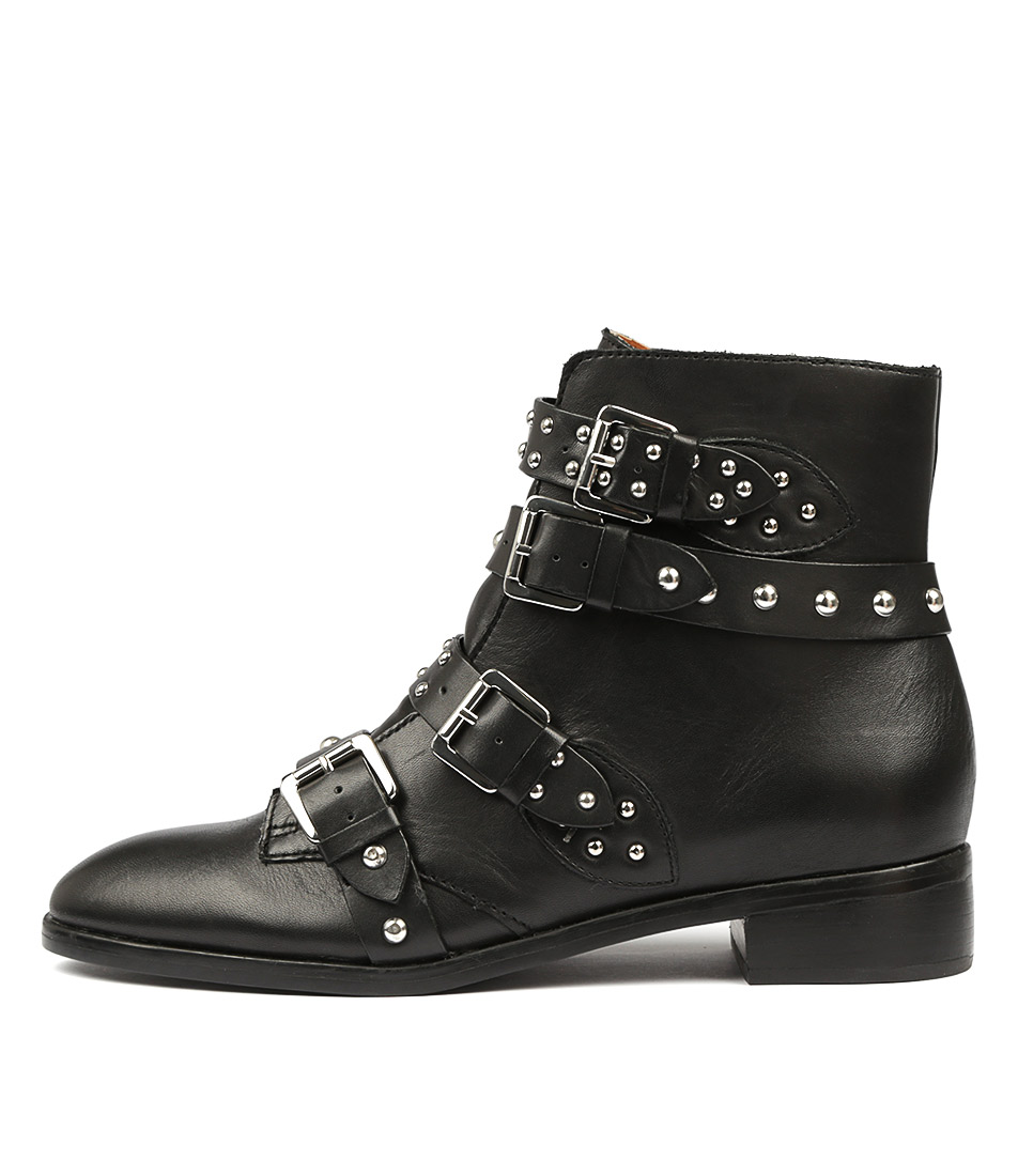 Tony Bianco Calais Tb Black Ankle Boots