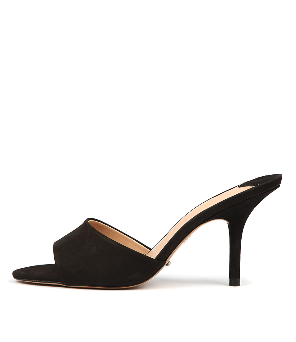 Buy Tony Bianco Izzey Black Phoenix Heeled Sandals online with free shipping