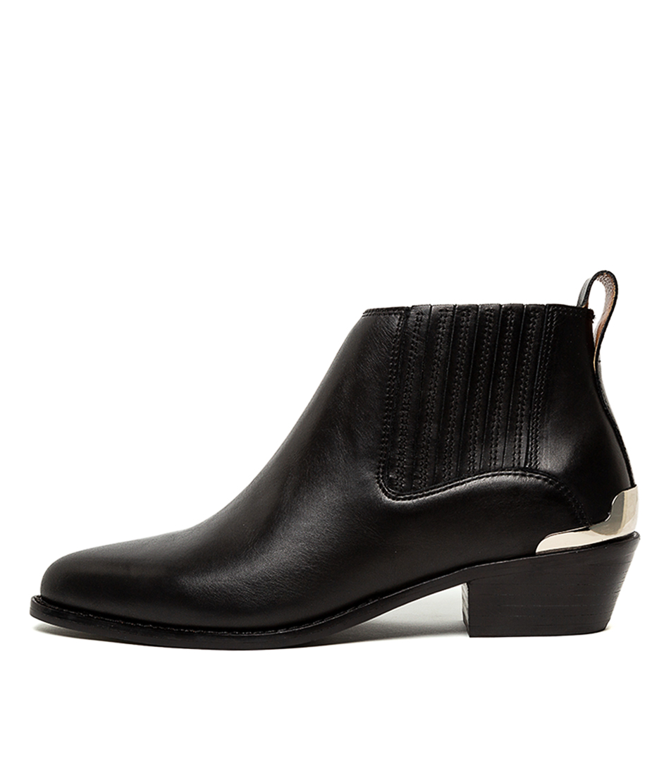 Buy Tony Bianco Wynston Black Jetta Ankle Boots online with free shipping