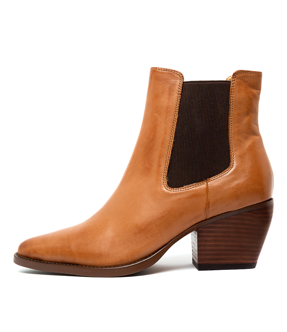 Buy Tony Bianco Priscilla Tan Como Ankle Boots online with free shipping