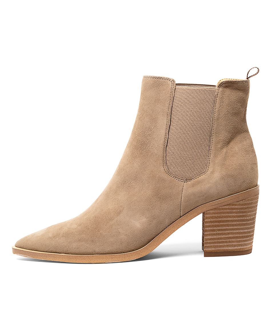 Buy Tony Bianco Sabrine Natural Ankle Boots online with free shipping