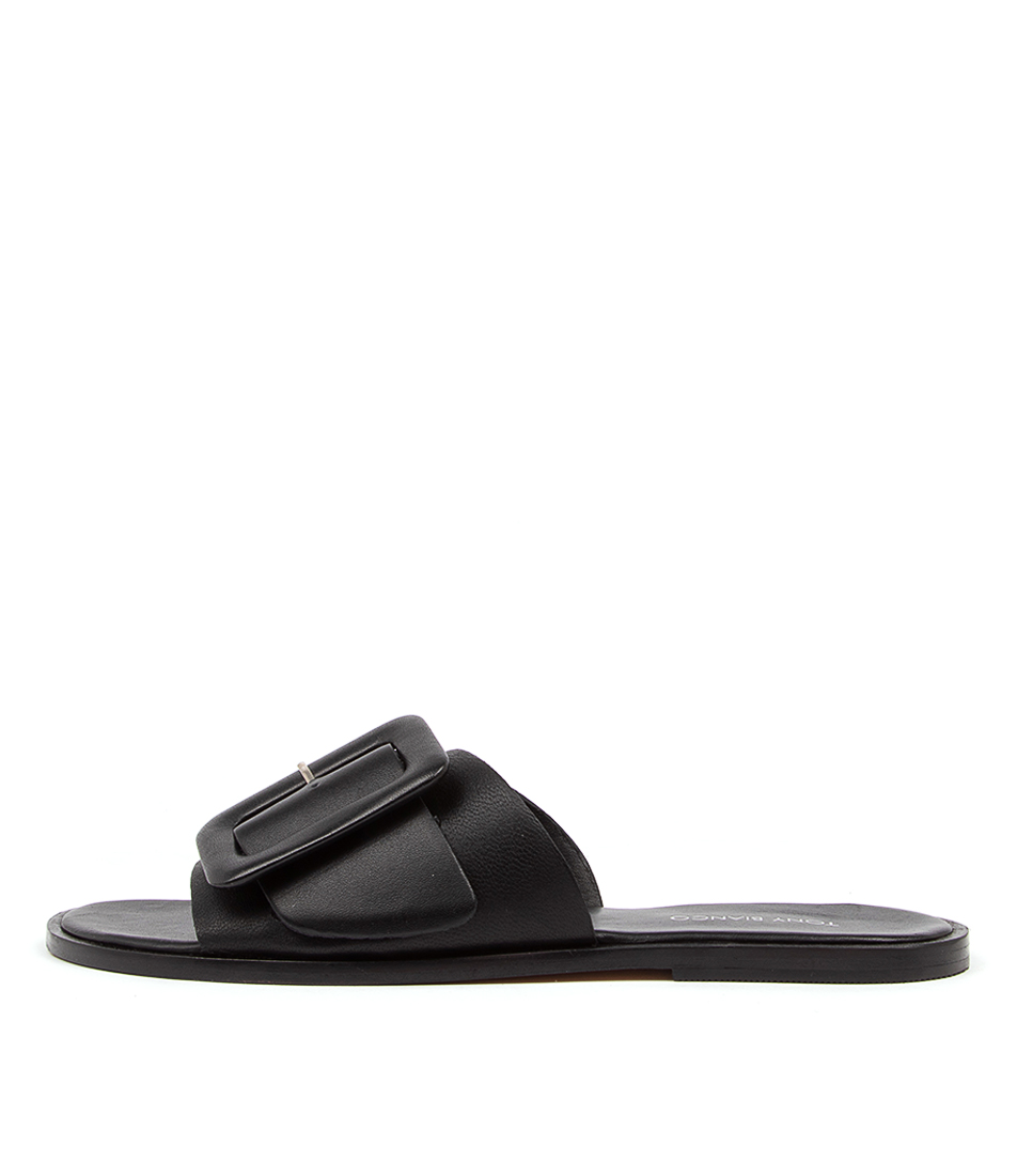 Buy Tony Bianco Raven Tb Black Flat Sandals online with free shipping