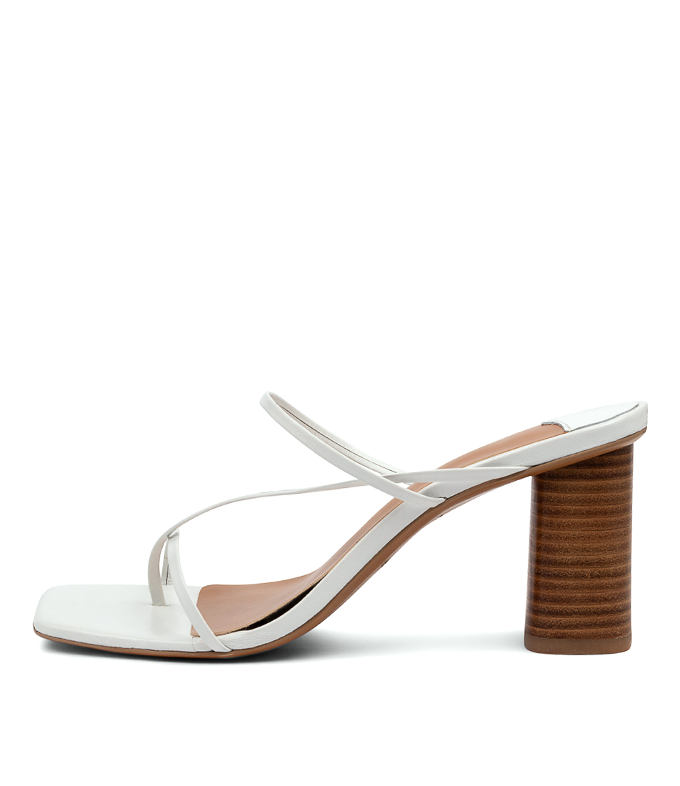 Buy Tony Bianco Ruby Tb White Heeled Sandals online with free shipping
