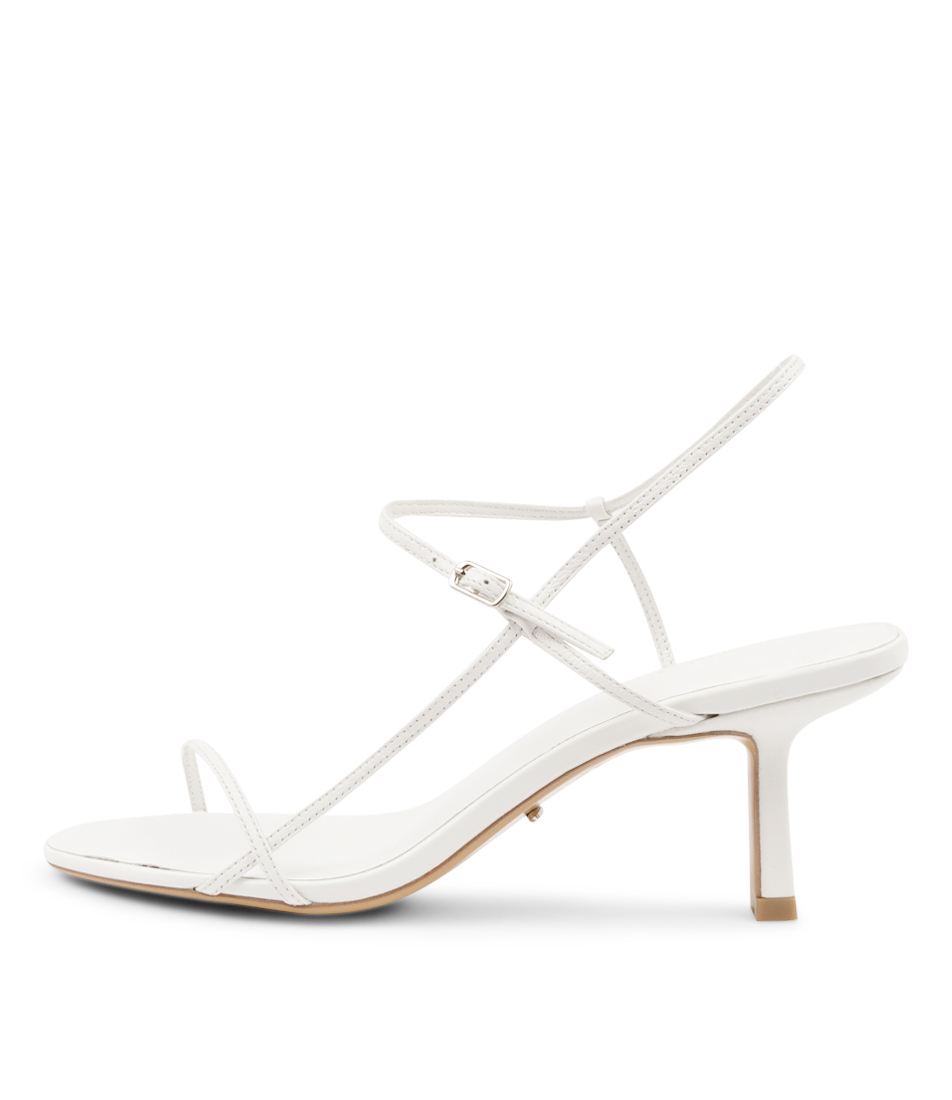 Buy Tony Bianco Caprice Tb White Heeled Sandals online with free shipping