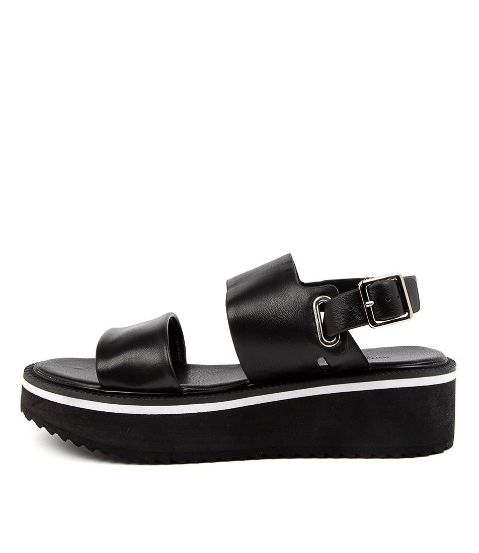 Buy Tony Bianco Milla Tb Black Flat Sandals online with free shipping