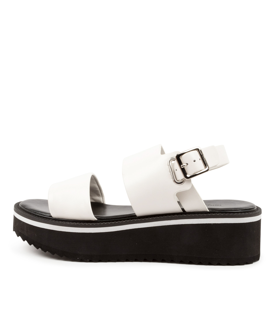 Buy Tony Bianco Milla Tb White Flat Sandals online with free shipping