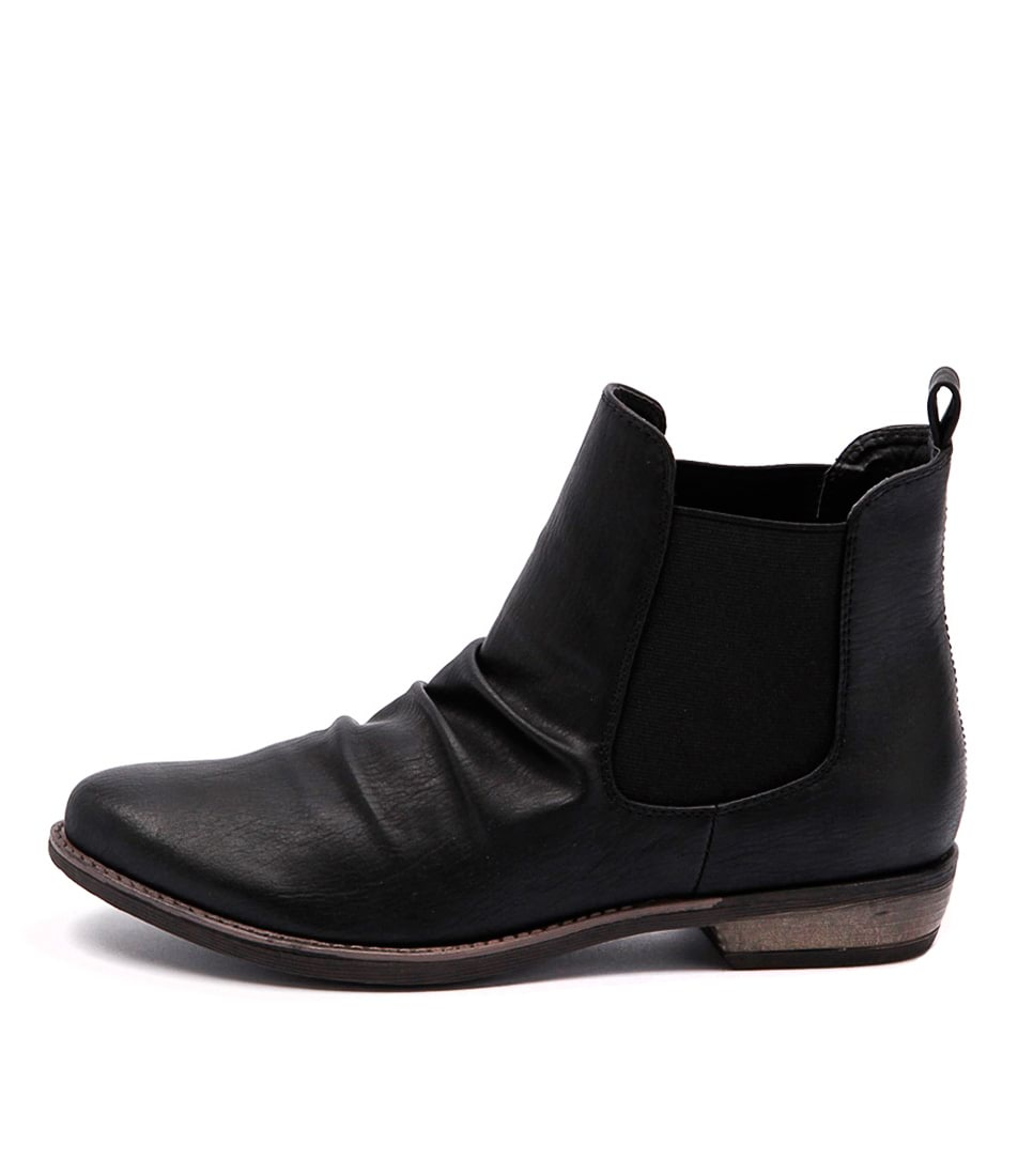 Buy Therapy Redwood Black Ankle Boots online with free shipping