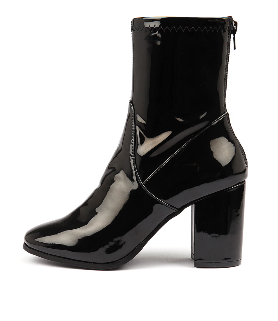 Therapy Hoxton Black Ankle Boots
