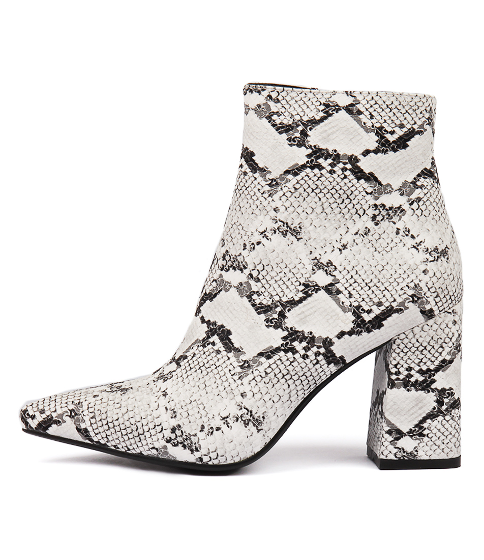 Buy Therapy Alloy Snake Party Ankle Boots online with free shipping