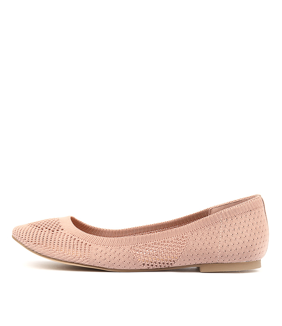 Therapy Stitch Pink Flat Shoes