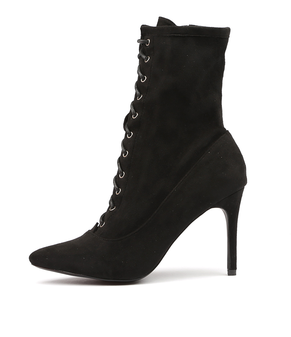 Therapy Pickens Black Ankle Boots
