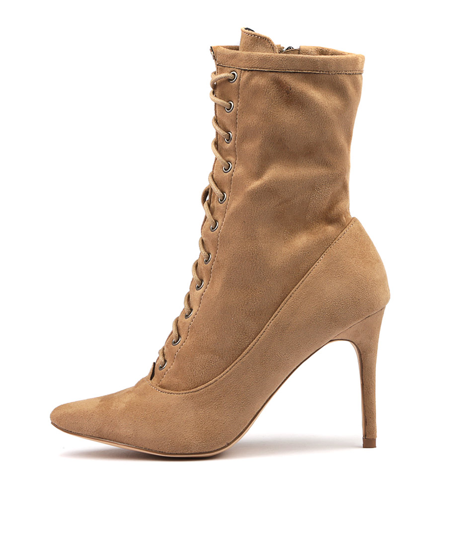 Therapy Pickens Taupe Ankle Boots