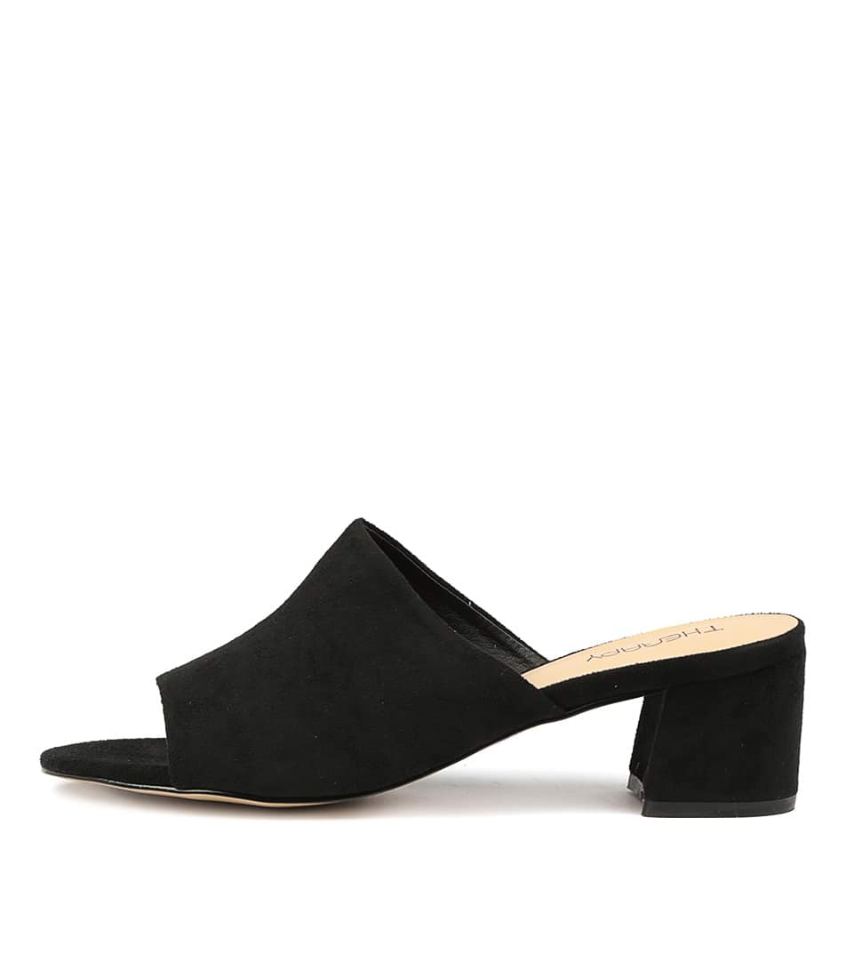 Photo of Therapy Garnett Black Sandals womens shoes