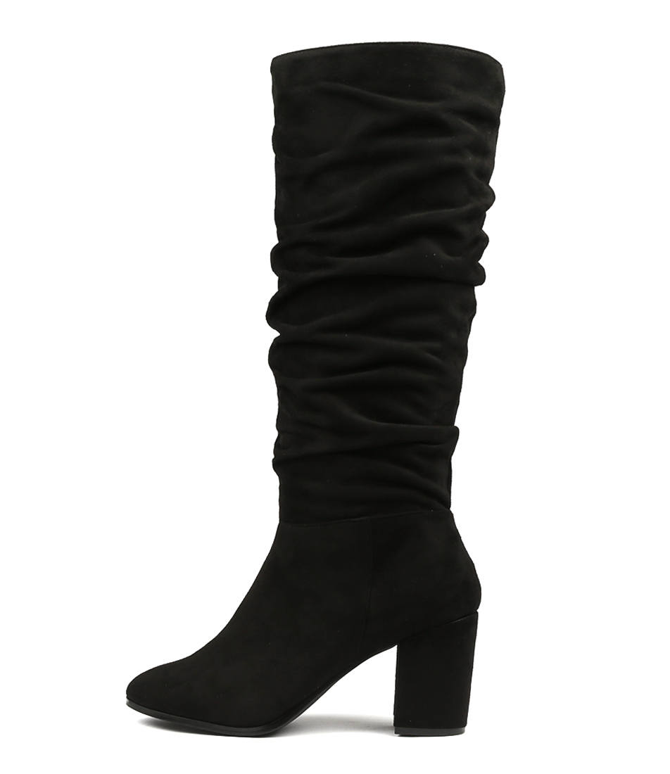 Buy Therapy Staples Black Long Boots online with free shipping