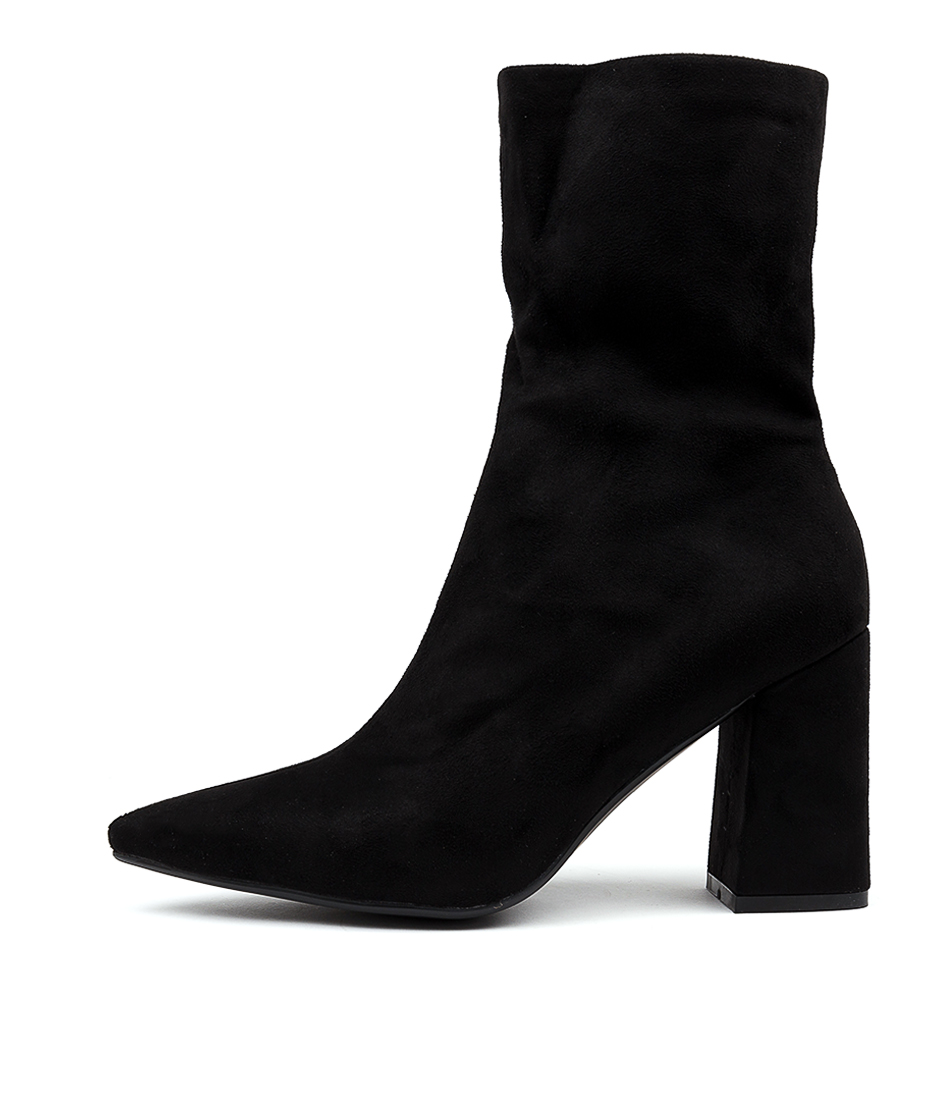 Buy Therapy Bowie Th Black Ankle Boots online with free shipping