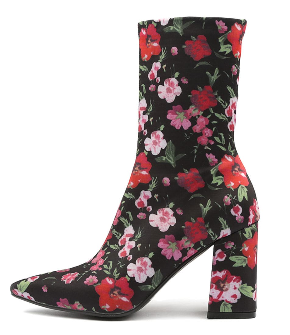 Buy Therapy Bowie Th Floral Ankle Boots online with free shipping