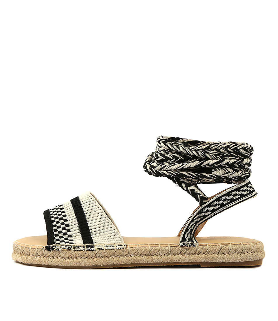 Buy Therapy Dauphin Woven Aztec Flat Sandals online with free shipping
