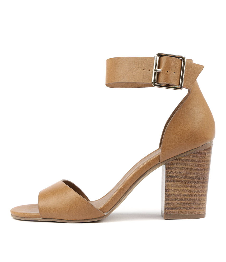 Buy Therapy Milton Th Camel Heeled Sandals online with free shipping