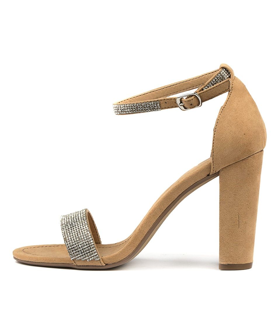 Buy Therapy Adelina Camel Heeled Sandals online with free shipping