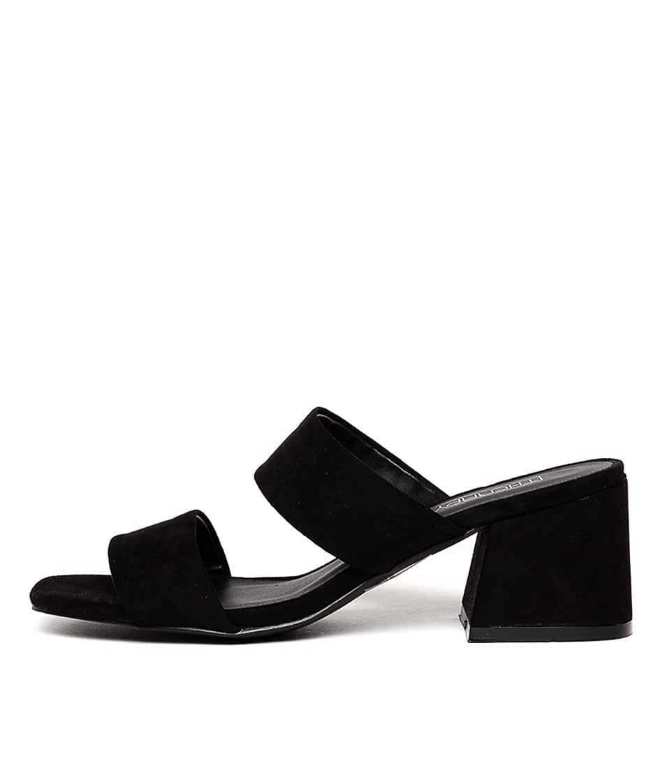 Buy Therapy Tyler Th Black Heeled Sandals online with free shipping