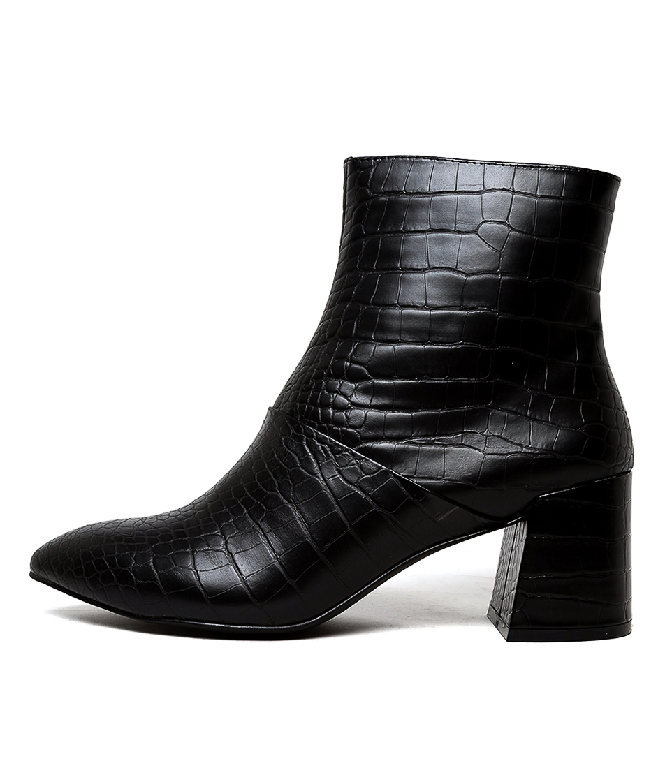 Buy Therapy Sidney Th Black Ankle Boots online with free shipping