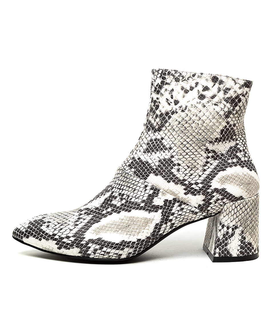 Buy Therapy Sidney Th Snake Ankle Boots online with free shipping