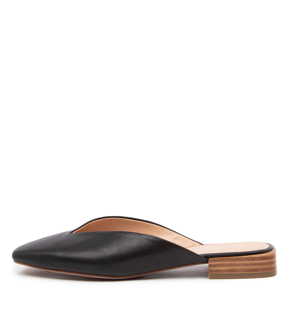 Buy Therapy Mila Th Black Flats online with free shipping