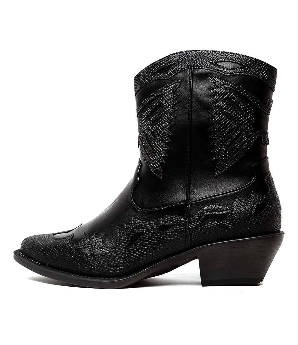 Buy Therapy Burke Th Black Ankle Boots online with free shipping