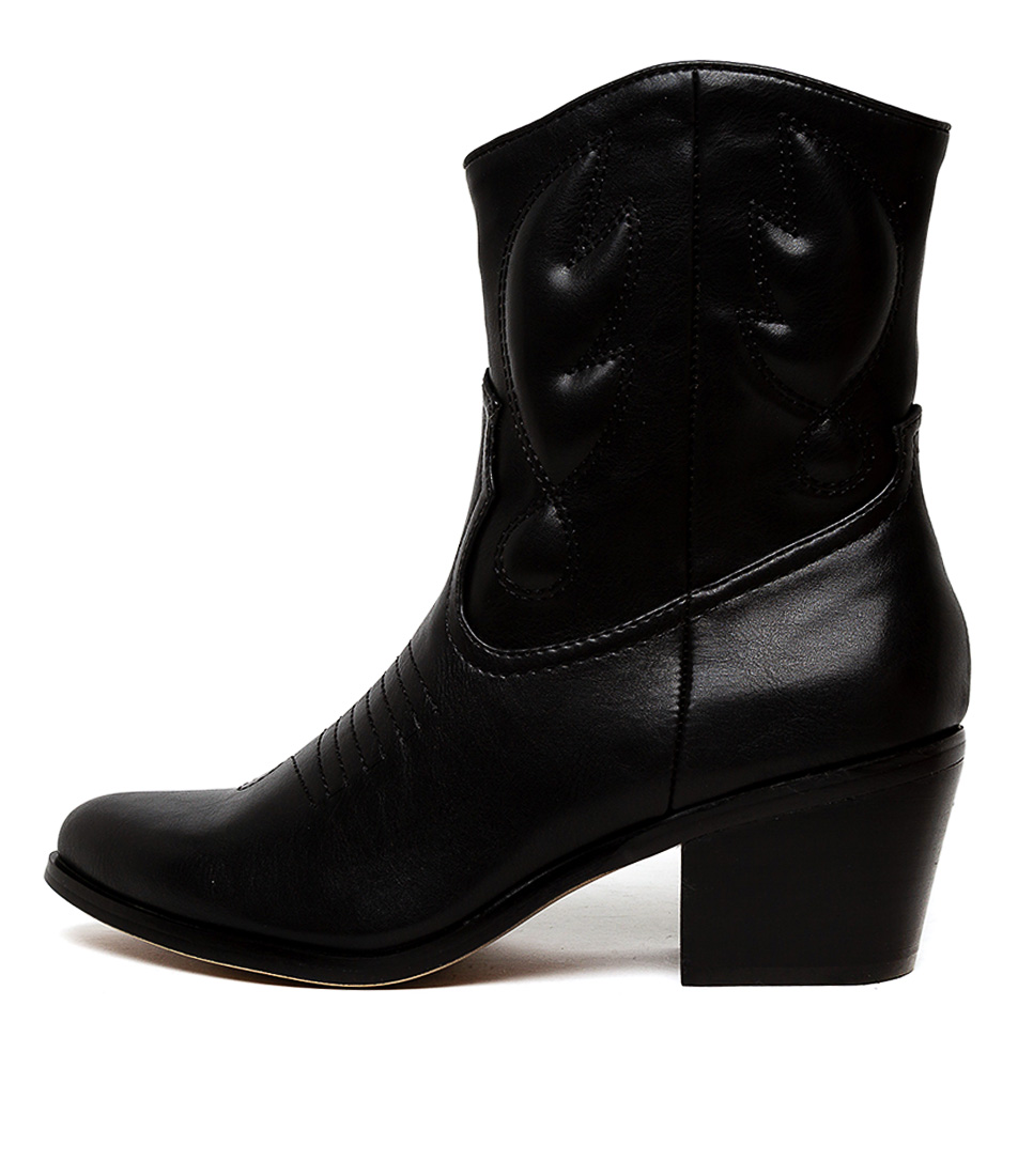 Buy Therapy Gibson Th Black Ankle Boots online with free shipping