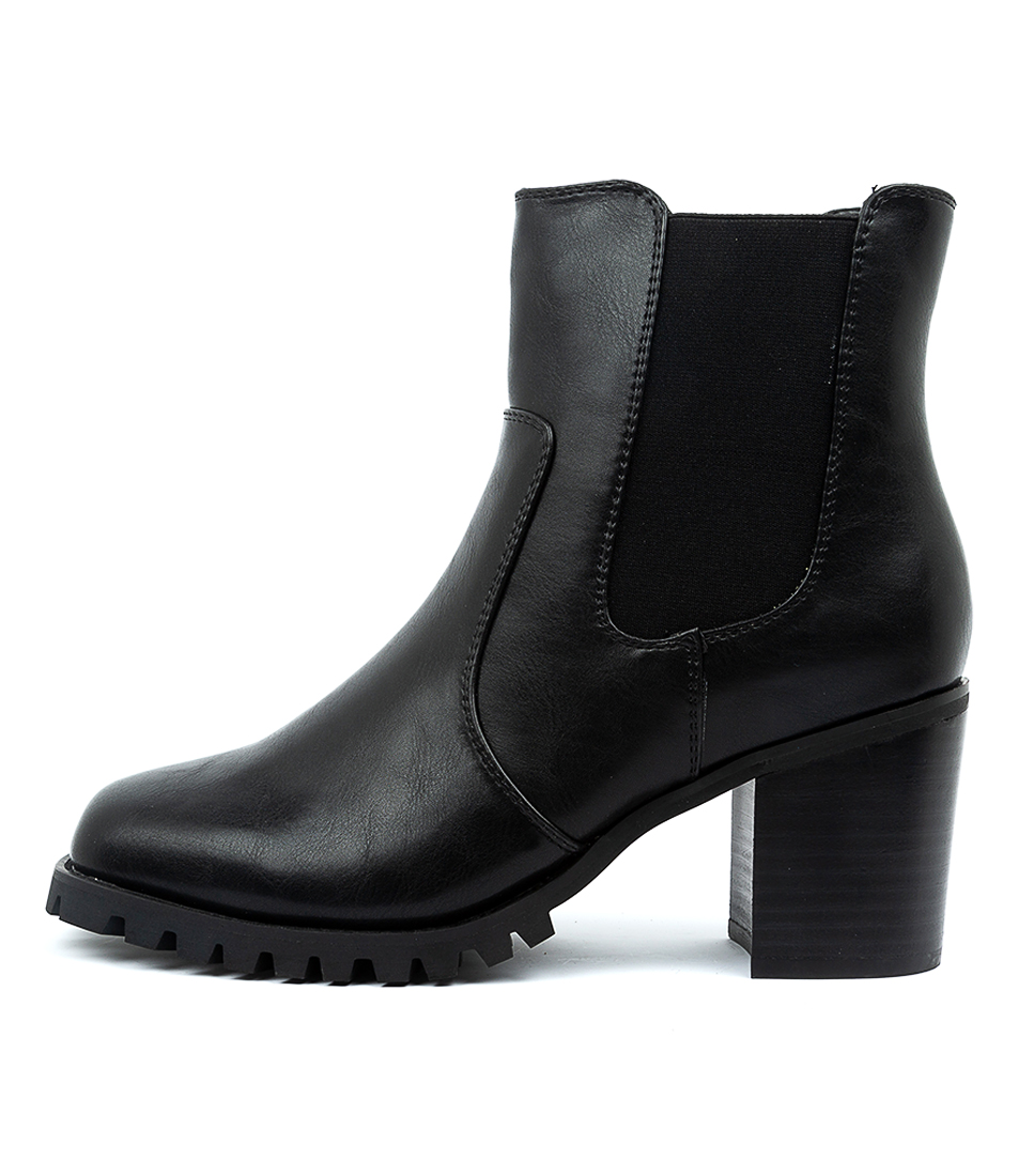 Buy Therapy Rudee Black Ankle Boots online with free shipping