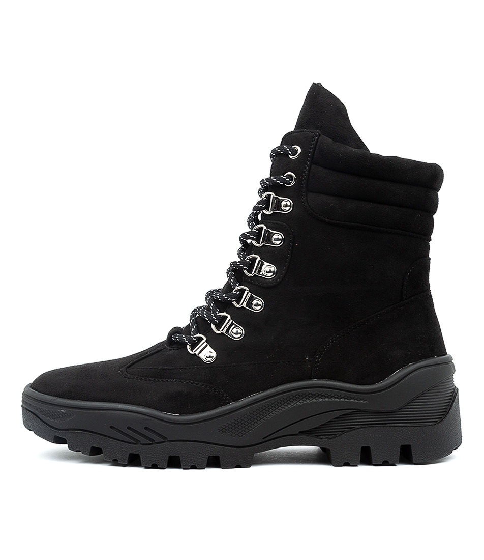 Buy Therapy Hoops Black Ankle Boots online with free shipping