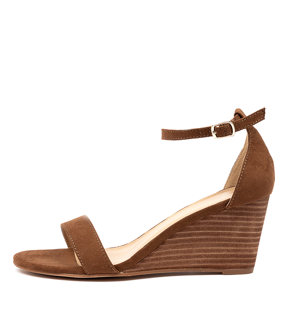 Buy Therapy Hazel Th Coffee High Heels online with free shipping