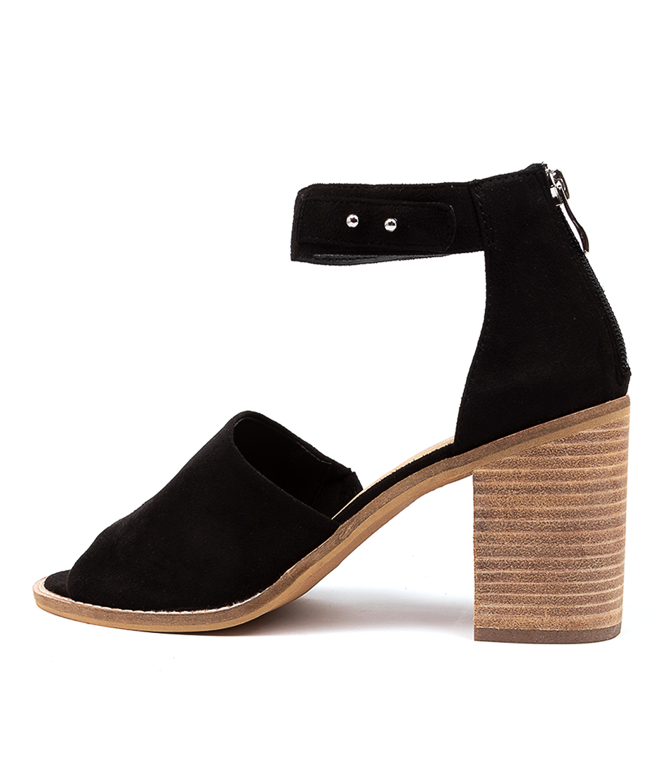 Buy Therapy Clove Th Black High Heels online with free shipping