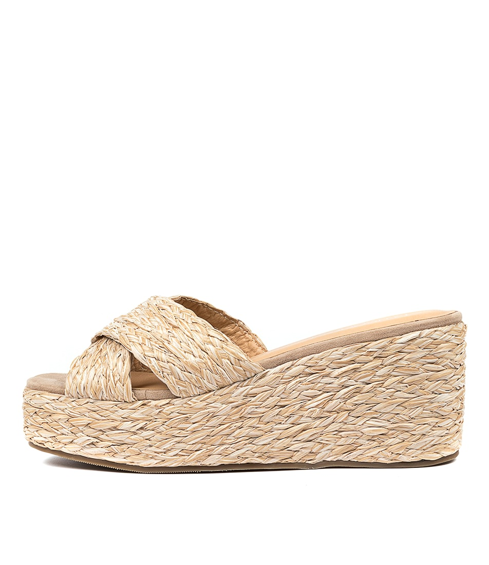 Buy Therapy Maple Th Natural Heeled Sandals online with free shipping