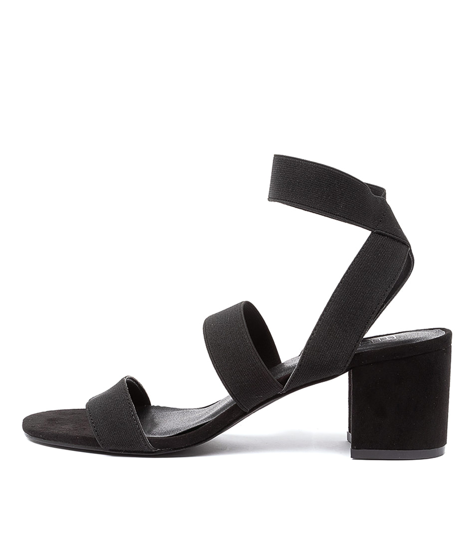 Buy Therapy Faye X Th Black Heeled Sandals online with free shipping