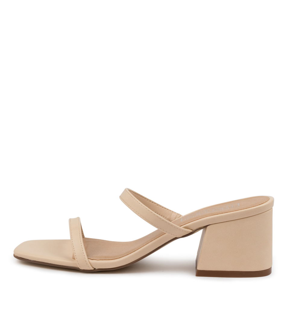 Buy Therapy Goldie Th Nude Heeled Sandals online with free shipping