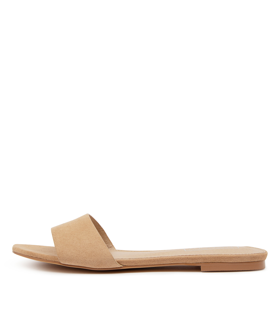 Buy Therapy Minnie Th Camel Flat Sandals online with free shipping