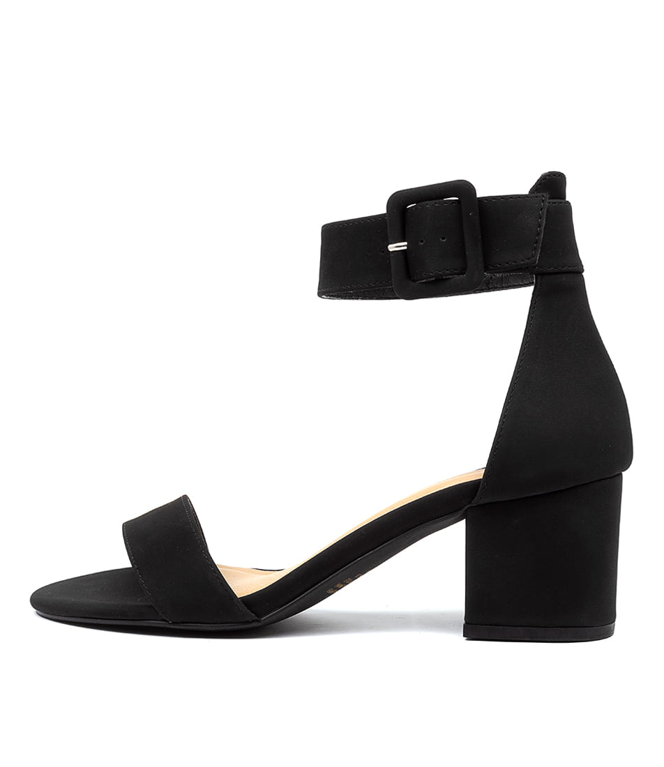 Buy Therapy Rosee Th Black Heeled Sandals online with free shipping