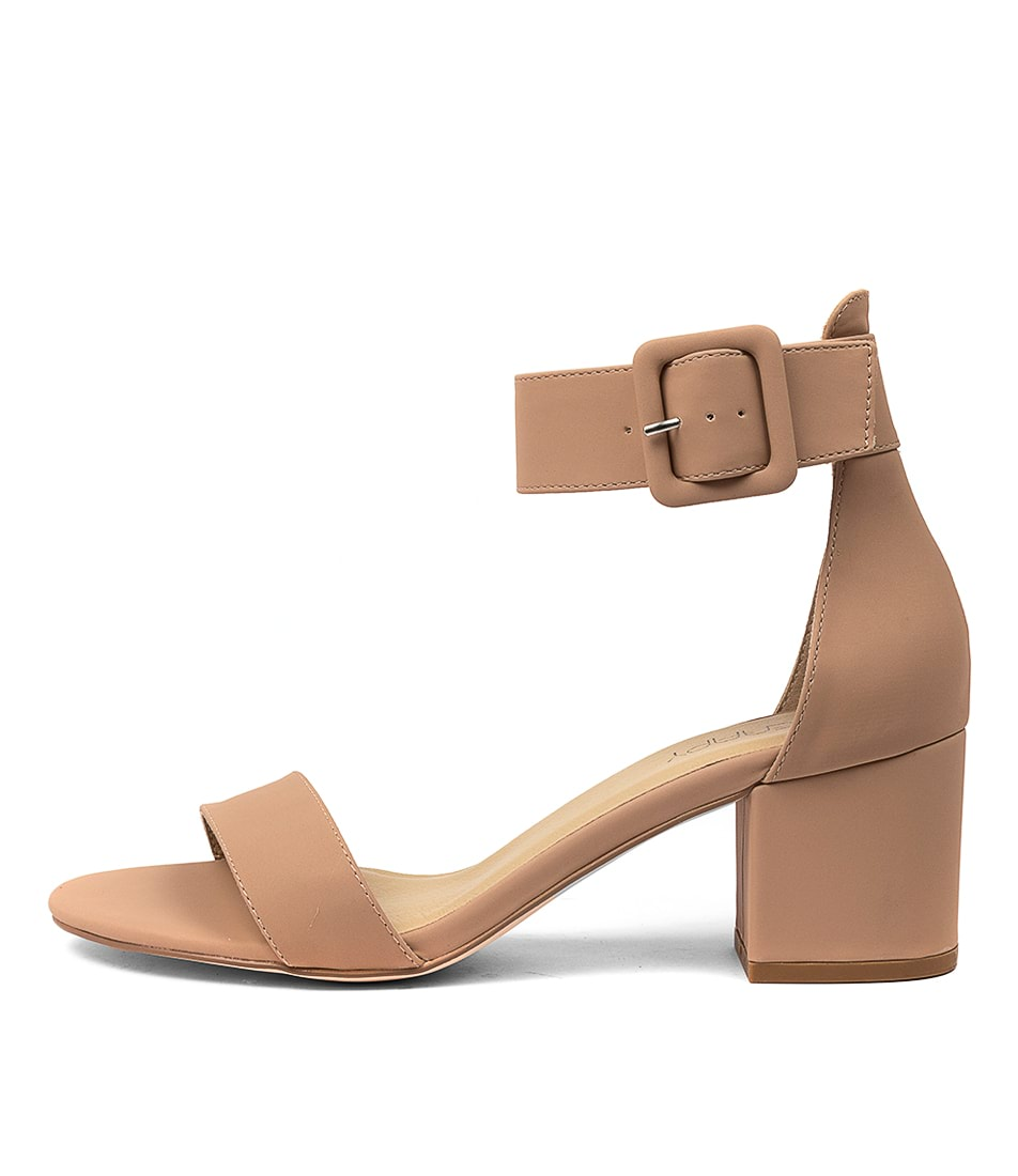 Buy Therapy Rosee Th Camel Heeled Sandals online with free shipping