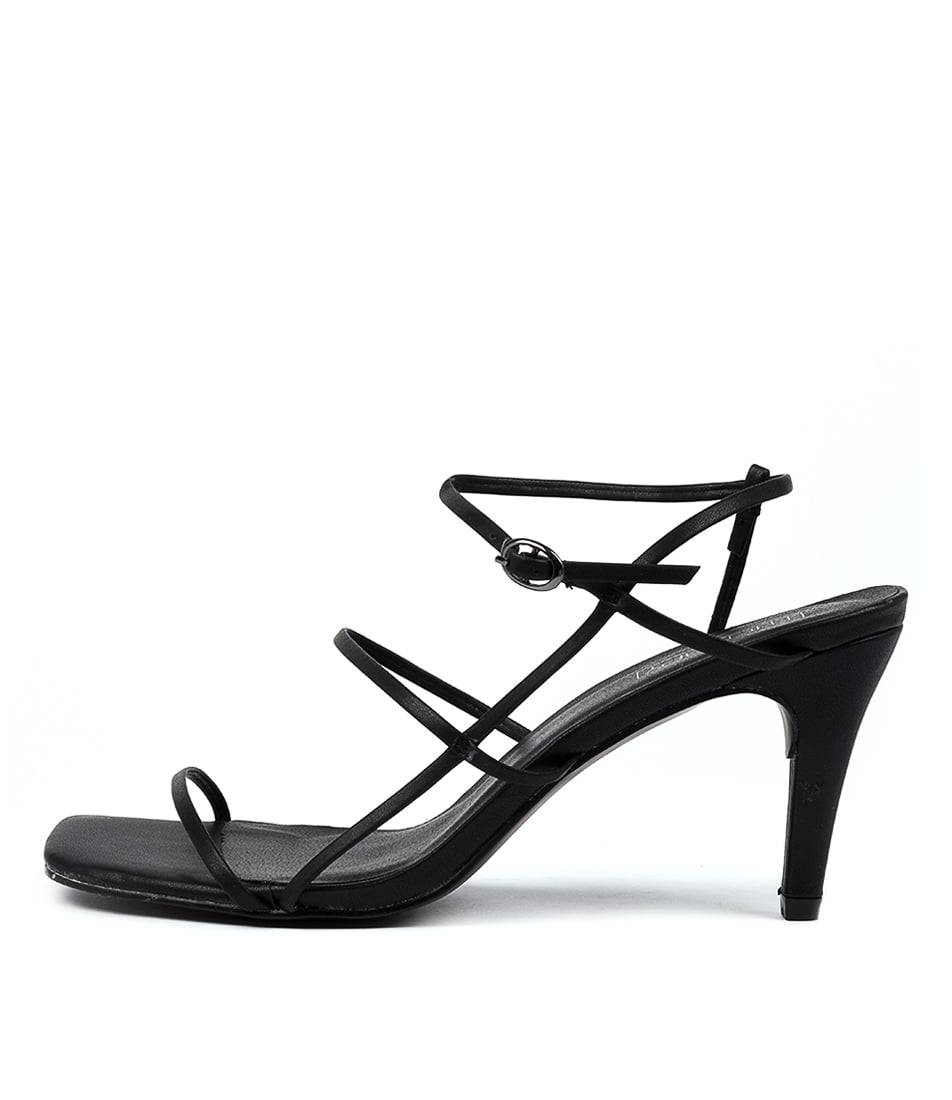 Buy Therapy Flossy Th Black Heeled Sandals online with free shipping
