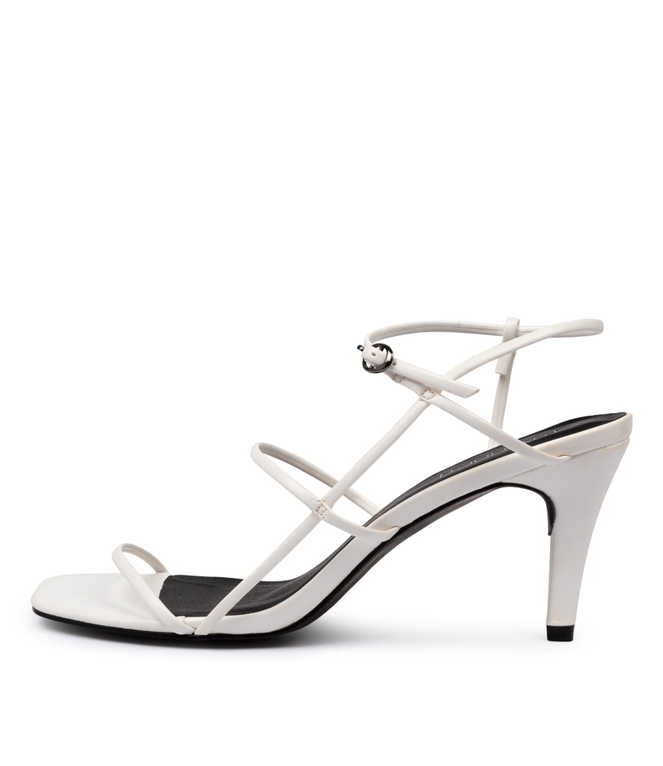 Buy Therapy Flossy Th White Heeled Sandals online with free shipping