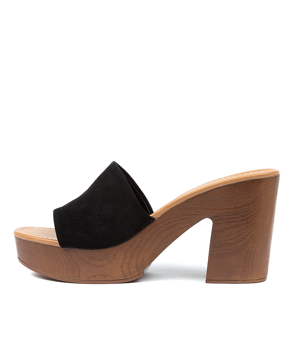 Buy Therapy Clemintine Th Black Heeled Sandals online with free shipping